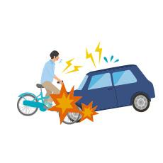 交通事故に遭われた方